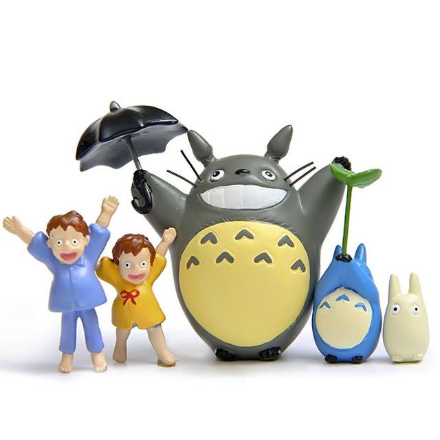 5Pcs Totoro Figure Set