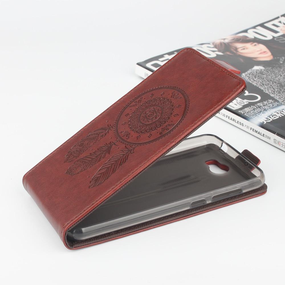för Huawei Y5 II Väska Mode präglat flipläderfodral för Huawei - Reservdelar och tillbehör för mobiltelefoner - Foto 3