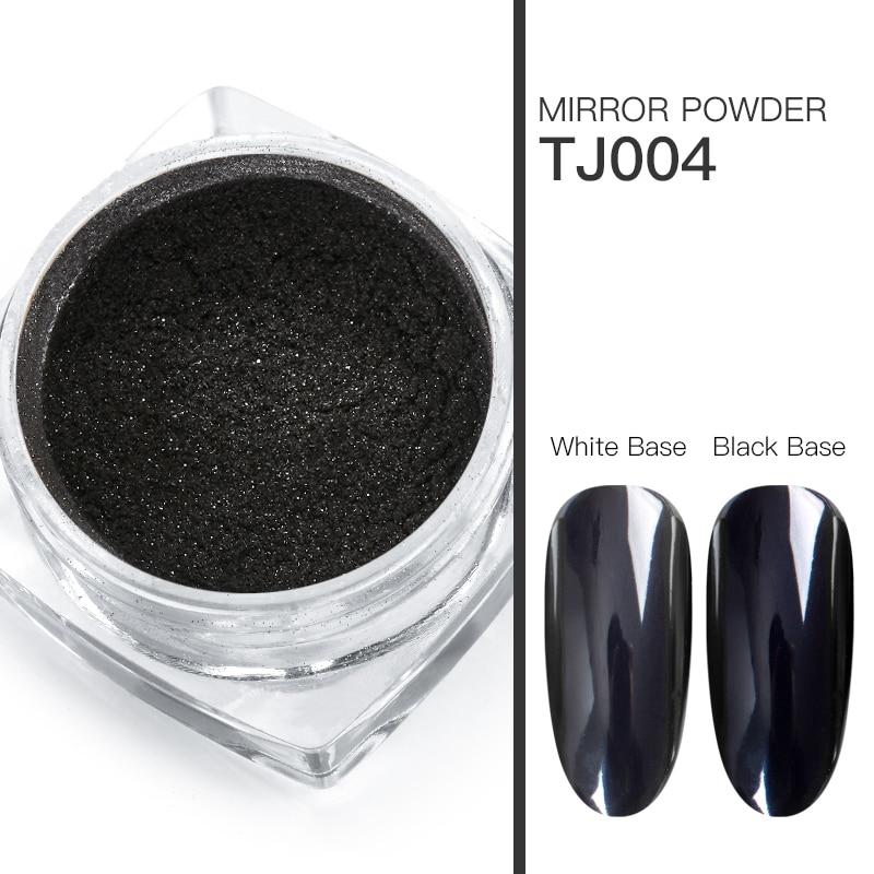 Волшебное зеркало блеск для ногтей Dip порошок Сияющий хром пигмент пыль голографическое искусство ногтей Маникюр УФ пудра для ногтей гель лак - Цвет: VS00730