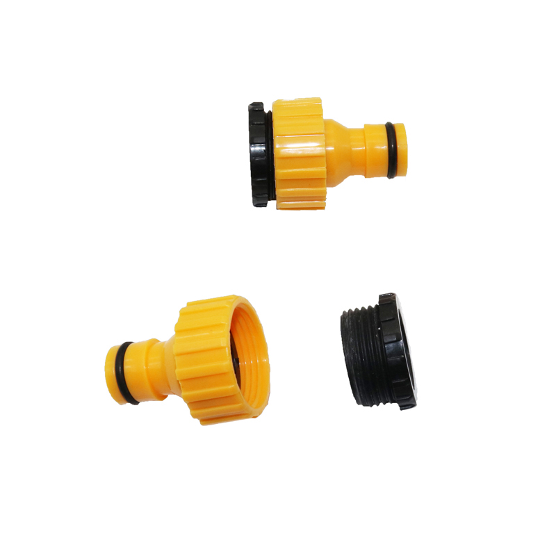 2pcs Standard Faucet Hose Connector Quick Connector Washing Machine Water Cannons And A Garden Lawn Sprinkler System Pipe