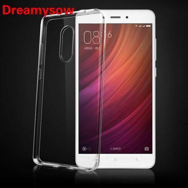 Transparente Suave TPU Caso de Telefone Para Xiao mi mi mi mi 6 5 A1 8 SE Vermelho mi 6 6A 6Pro S2 4A 3 S Nota 4X4 Pro Prime Limpar Cover Silicone