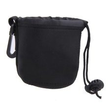 100 X 80mm Universal Neoprene Waterproof Soft Pouch Bag Case for Video Camera Lens
