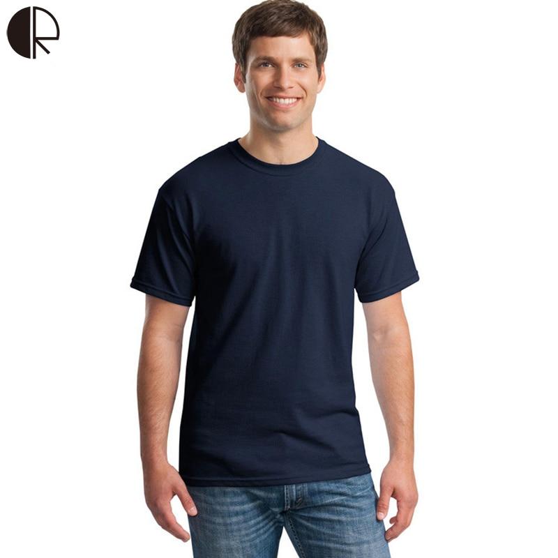 Hot Sale 2016 new Arrive 100% Brand Contton Men T-shirts Men's T shirt Solid fashion short sleeve t-shirt Clothes