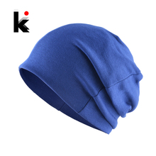 Autumn Hats Baby Boys Girls Solid Color Children Soft Beanie Spring Knitted Cott