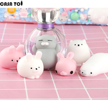 Squishy Cute Soft Cat Wipes Antistress Boot Ball Decompression Sticky Eliminate Stress Squishies Fun Squeeze Pets Friet Kit Toys