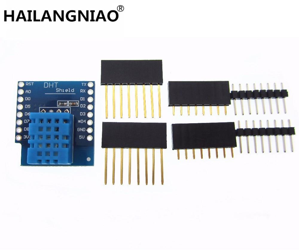 DHT Shield For WeMos D1 Mini DHT11 Single-bus Digital Temperature And Humidity Sensor Module Sensor