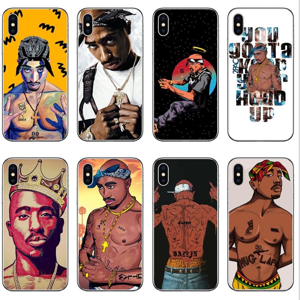 Cellphones & Telecommunications Phone Bags & Cases Hospitable 2pac Makaveli Tupac Amaru Shakur Hard Plastic Phone Case Cover For Iphone Se 5 5s 6 6s Plus 7 Xr Xs Max 8 8 Plus X Durable Modeling