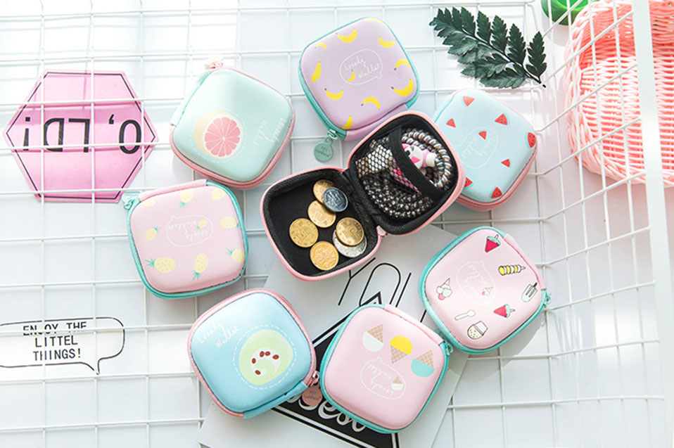 New Cute Electronic Digital Storage Bag Case For Earphone EVA Headphone Container USB Cable Earbuds Storage Box Pouch Bag Holder (1)