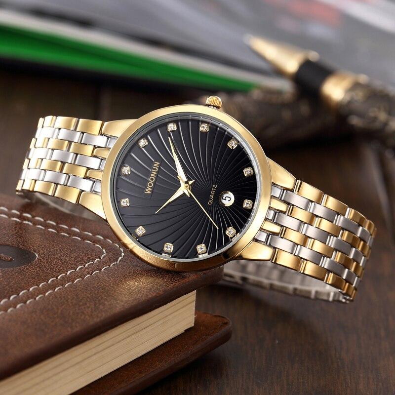 WOONUN Ανδρικά ρολόγια Top Brand Πολυτελή - Ανδρικά ρολόγια - Φωτογραφία 4