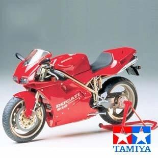 Montering af motorcykel Model Tamiya 14068 Ducati 916 - Legetøjsbiler