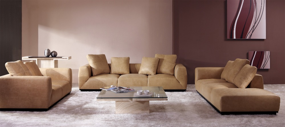 Modern furniture set leather sectional sofa home furniture for Modern furniture deals