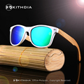 2017 HOT Sale Fashion Polarized Eyewear Items PC Frame Bamboo Leg Wooden Sunglasses for Driving Men And Women With Wooden Box