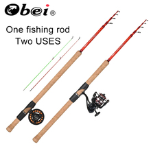 obei Dragonfly fly fishing rod  ul spinning Lure Rod Wt:1.2-12g Casting Canne Spinnng