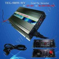 500W Grid Tie Solar Inverter For Home Use 22V 60V To 190V 250V Solar Power Inverter