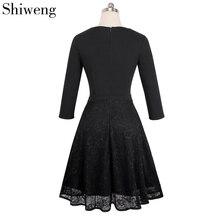 Shiweng 2019 nueva moda Inglaterra Stye Casual ropa de verano para mujeres Sexy Inglaterra Stye vestido A072