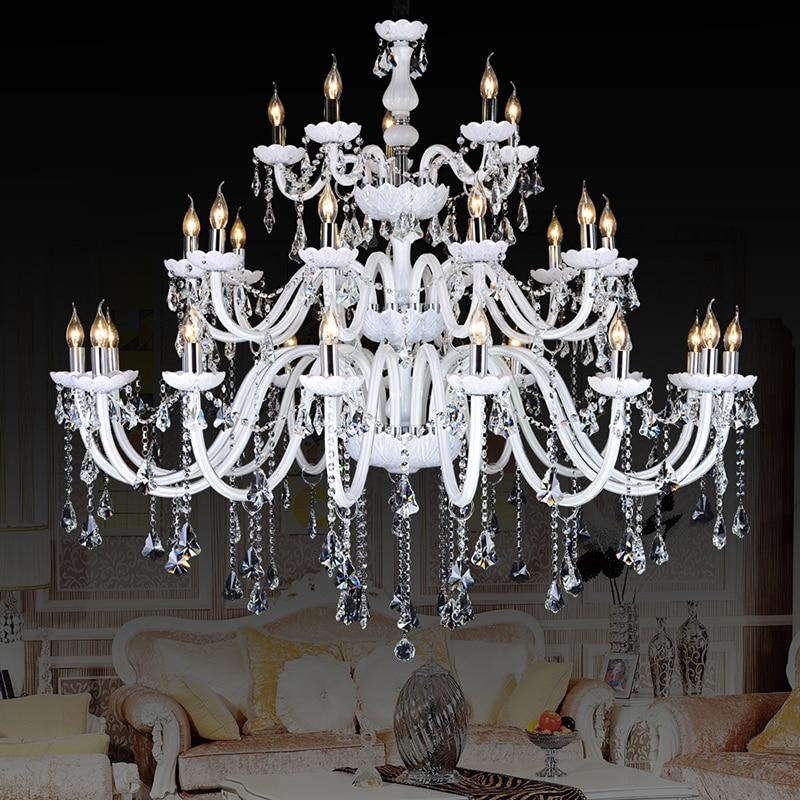 compare prices on bohemian crystal chandelier online. Black Bedroom Furniture Sets. Home Design Ideas