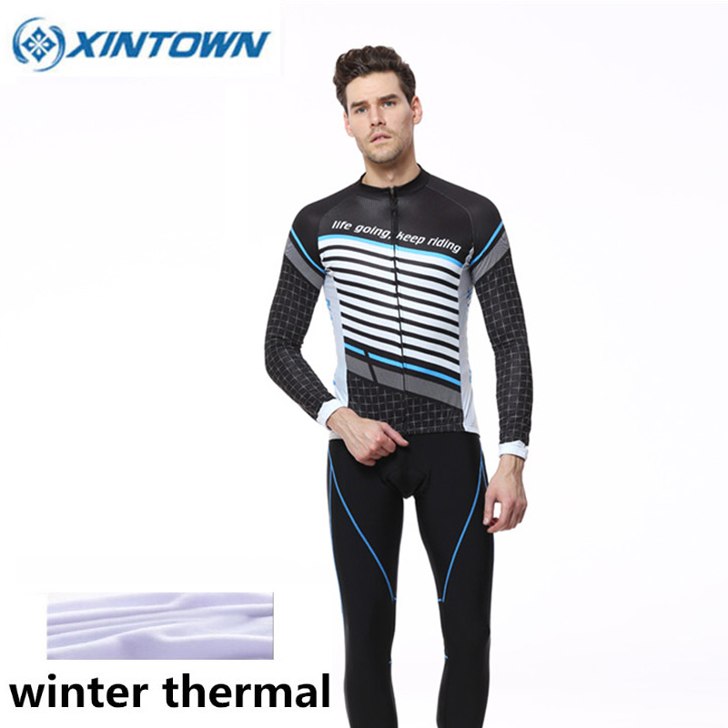 New Winter Cycling Clothing Fleece Thermal Windproof Long Sleeve Jersey Pants Ropa Ciclismo MTB Bike Bicycle Cycling Jacket Sets 10pcs vgds1 s24 d12 dip converter dc dc dip