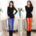 2016 Pantalones de Las Mujeres Pantalones de Invierno Outer Wear Mujer de Talle Alto Delgado de Moda femenina Caliente Grueso Pato Abajo Pantalones Pantalones flacos
