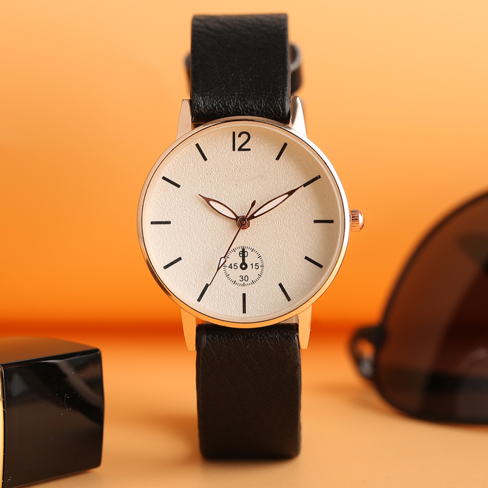 Multiple Styles Female Wrist Watch Simple Casual Leather Bangle Quartz Watches Women Frosted Dial Clock Gift for Gril Friend