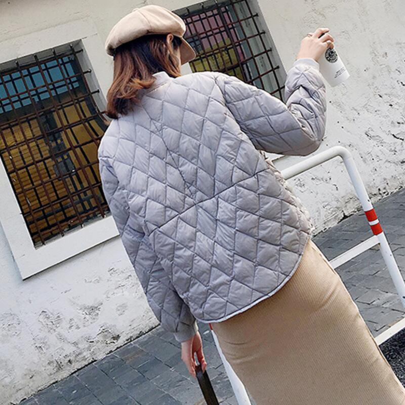 gris Noir Lâche Blanc Des Mode Paragraphe Veste Taille Plus Colour Canard Le 90Duvet D'hiver Vers La Ly732 Bas Automne Courte Doudoune blanc Et De bourgogne caramel Femmes Légères eE2DH9WIY