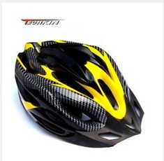 Factory production30606 TECHKIN Fashion New Safty Cycling Adult Men's Bike Bicycle Carbon Safety Helmet w/ Visor 21 Holes