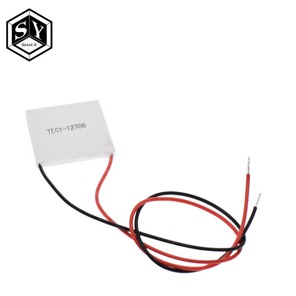50PCS 100% New the cheapest price TEC1 12706 TEC 1 12706 57.2W 15.2V TEC Thermoelectric Cooler Peltier (TEC1 12706)-in Integrated Circuits from Electronic Components & Supplies