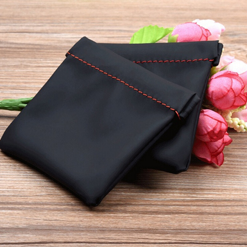 1PCS Mini Earbuds Protective Package Case For Cable Mini Portable PU Leather Earphone Bag
