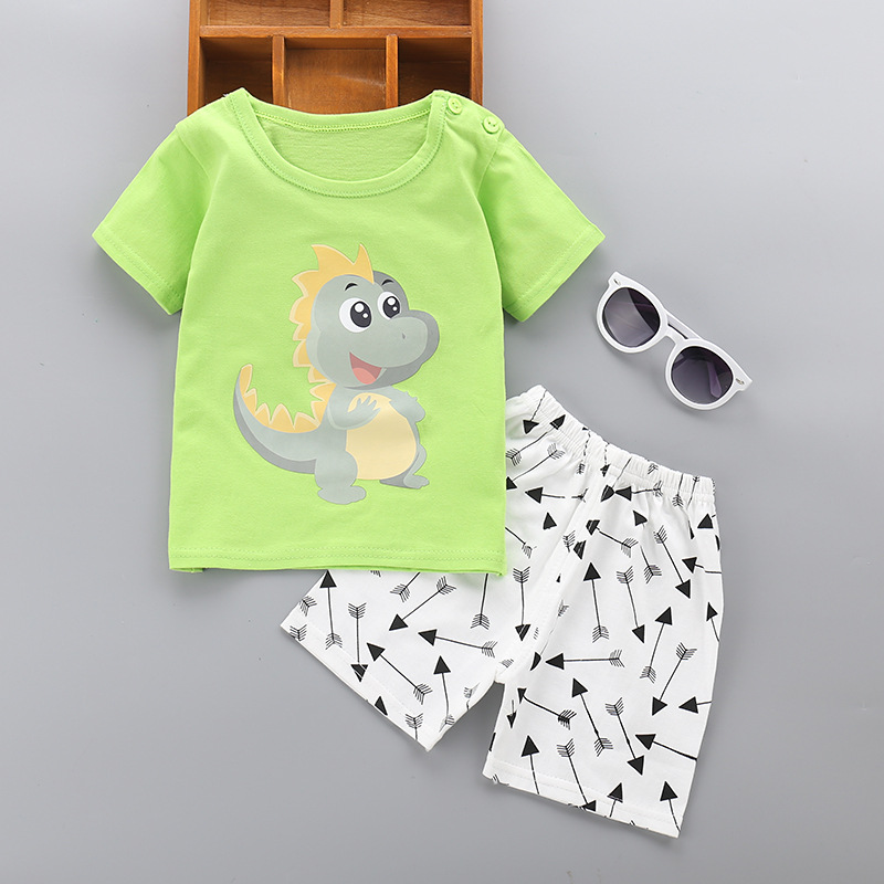 Cotton Baby Boy Clothes Summer 2018 Newborn Baby Boy Clothes Set Cotton Baby Girl Clothing Suit Shirt+Pants Infant Clothes Set baby boy clothes monkey cotton t shirt plaid outwear casual pants newborn boy clothes baby clothing set