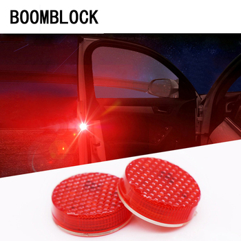 BOOMBLOCK Car Door dsafety warning light indicator For BMW e90 e60 e39 e46 f10 F30 VW Golf 7 Passat b6 Peugeot 206 Audi a3 a4 image