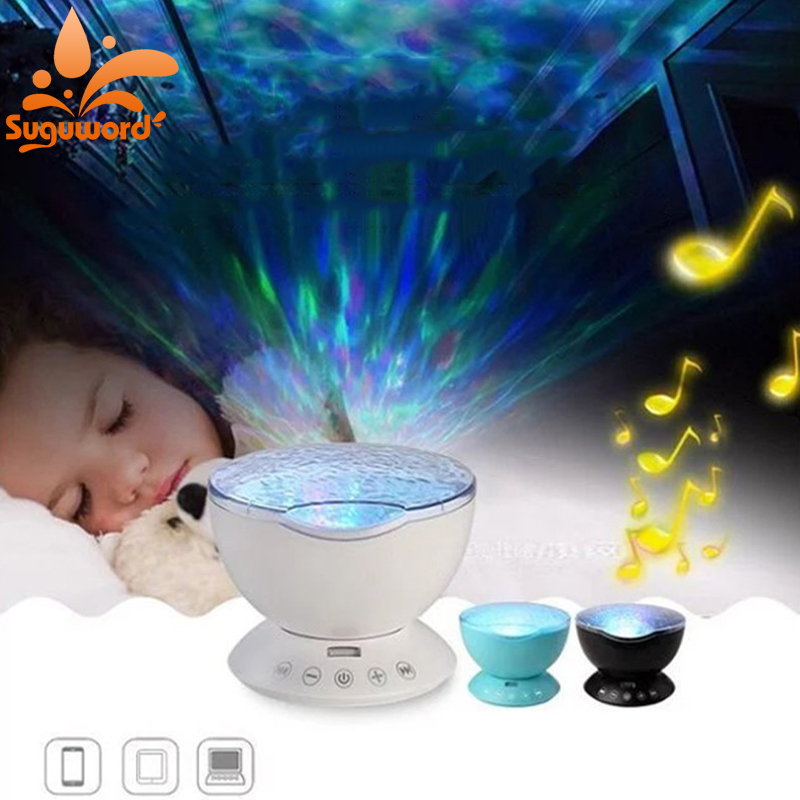 Romantic Colorful Aurora Sky Holiday Gift Cosmos Sky Projector LED Starry Night Light Lamp Ocean Wave Projector amazing romantic colorful aurora sky holiday gift cosmos sky master projector led starry night light lamp ocean wave projector
