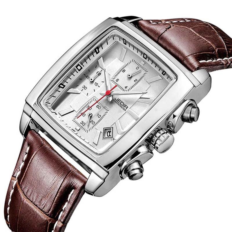 JEDIR oriģinālā pulksteņa vīriešu top zīmola luksusa kvarca - Vīriešu pulksteņi