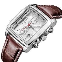 цена на JEDIR Original Watch Men Top Brand Luxury Quartz Military Watches Genuine Leather Dress Wristwatch Mens Clock Relogio Masculino