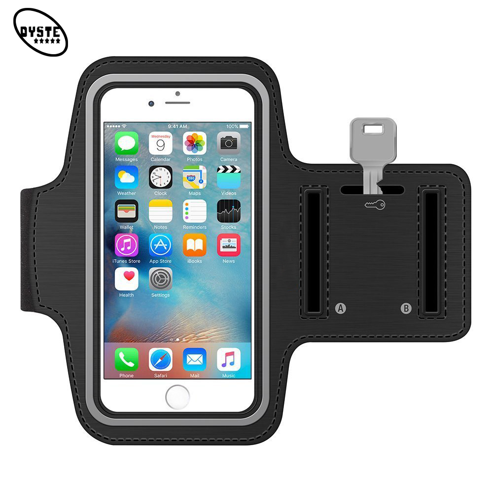 Universal τσάντα κινητού τηλεφώνου για Xiaomi Redmi Note 4 4x8 6 Gym Arm Band Pouch Smartphone Case Redmi 6a Sports Case On Hand