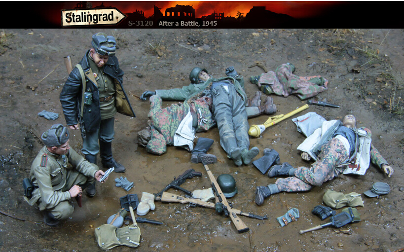 Resin Kits  1/35  Scale  After A Battle Big Set  Soldiers Resin Model DIY TOYS