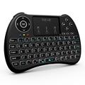 H9 + backlight teclado rii i8 + 2.4 ghz sem fio qwerty teclado inglês com Touchpad para PC Mini Smart TV Box PC Portátil Backlit