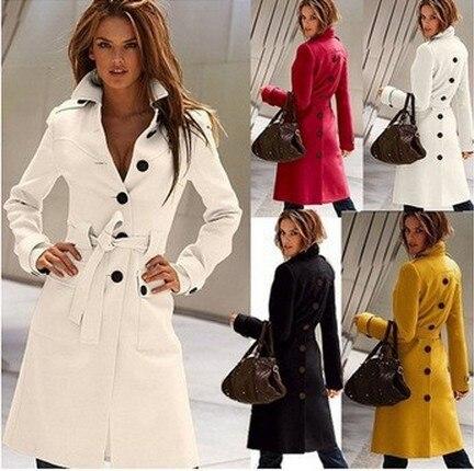 2019 Summer Clearance   Trench   Coat For Women Maxi Windbreaker Female Fashion Long Sobretudo Feminino British Style   Trench   Coat