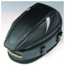Nouveau RR9014 moto arrière siège sac/voiture queue sac/sacs/envoyer housse de pluie/Noir 18.5 litres