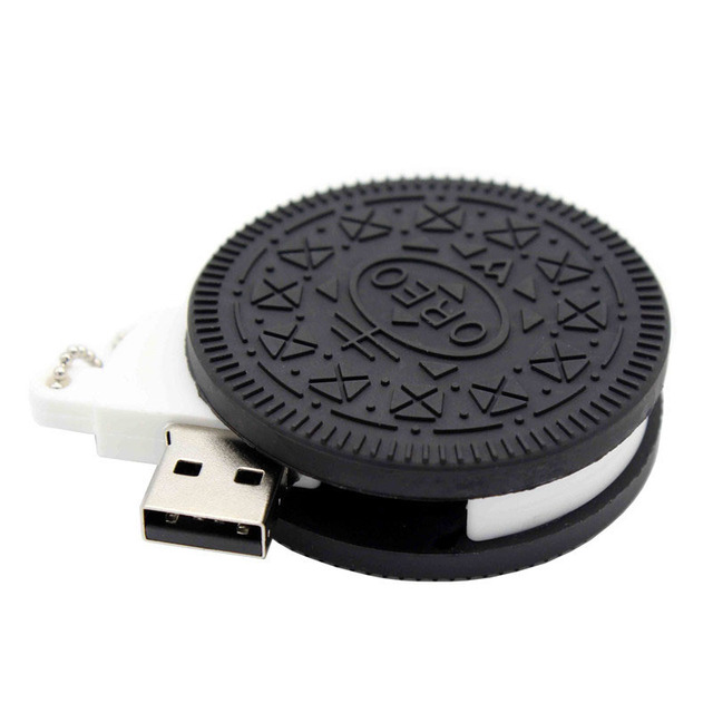 BiNFUL Oreo Biscuits model ice cream chocolate usb2.0  4GB 8GB 16GB 32GB 64GB pen drive USB Flash Drive creative giftyPendrive 3