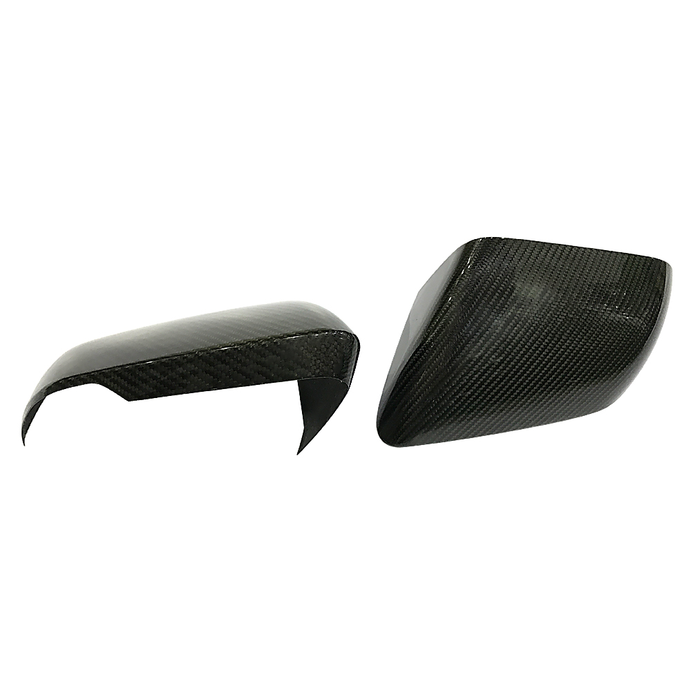 Carbon Fiber Side Mirror Covers For Ford Mustang 2015 2019 With Led Fuse Box Cover Signal 1 Pair Replacement Caps Shell Car Styling In From Automobiles