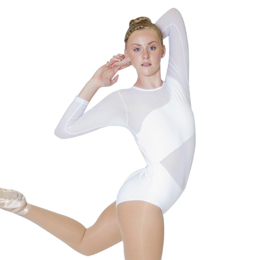 branco-algodao-lycra-malha-de-manga-comprida-danca-collant-de-bale-para-o-desempenho-para-senhoras-e-meninas