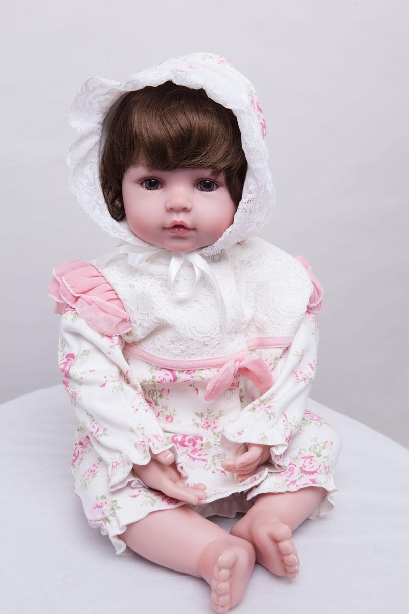 55cm silikonske preporođene dijete lutka igračke Lifelike vinil - Lutke i pribor - Foto 5