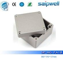 2015 New Saip Brand aluminium enclosure,  aluminium enclosures for electronics SP-AG-FA18, 80*76*57mm