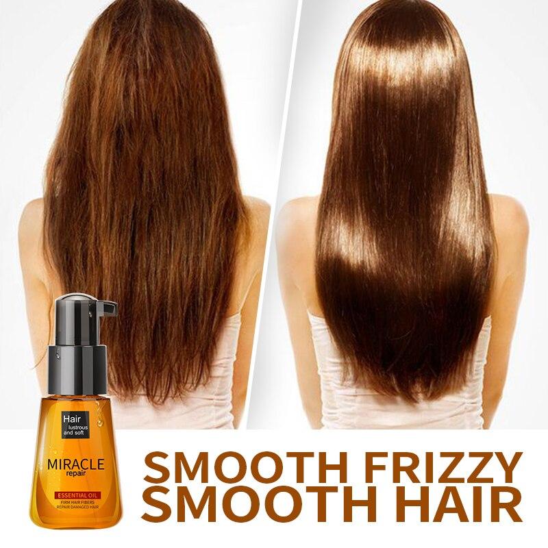 LAIKOU dei capelli olio Essenziale di olio di argan marocco nutriente Multi-funzionale Per La Cura Dei Capelli trattamento dei capelli 70 ml