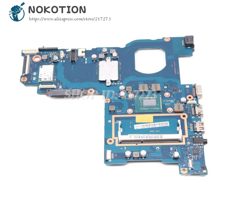 NOKOTION BA41-02308A BA92-13934A BA92-13934B Laptop Motherboard For Samsung NP270E5E 270E5G Main Board SR109 1007UNOKOTION BA41-02308A BA92-13934A BA92-13934B Laptop Motherboard For Samsung NP270E5E 270E5G Main Board SR109 1007U