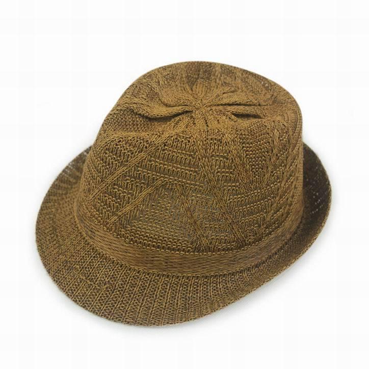 Дышащие полосатые модные соломенные шляпы для защиты от солнца в студенческом стиле; летняя кепка унисекс; крутая кепка; 7 цветов; 1 шт - Цвет: B