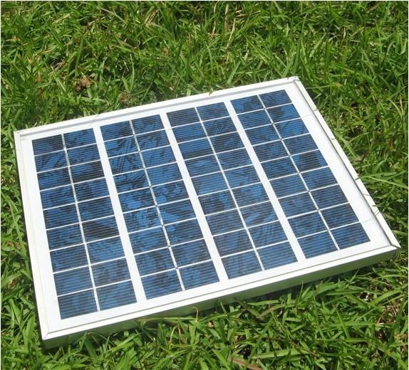 100% Free shipping Polycrystalline photovoltaic solar panel 5W solar panel / solar module / 18V 12V battery charging