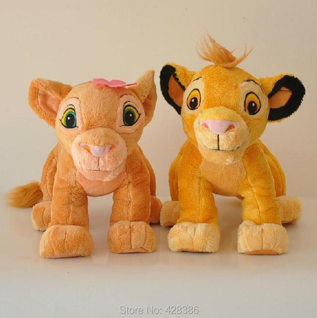 The Lion King Simba And Nala High Quality Plush Stuffed Soft Classic