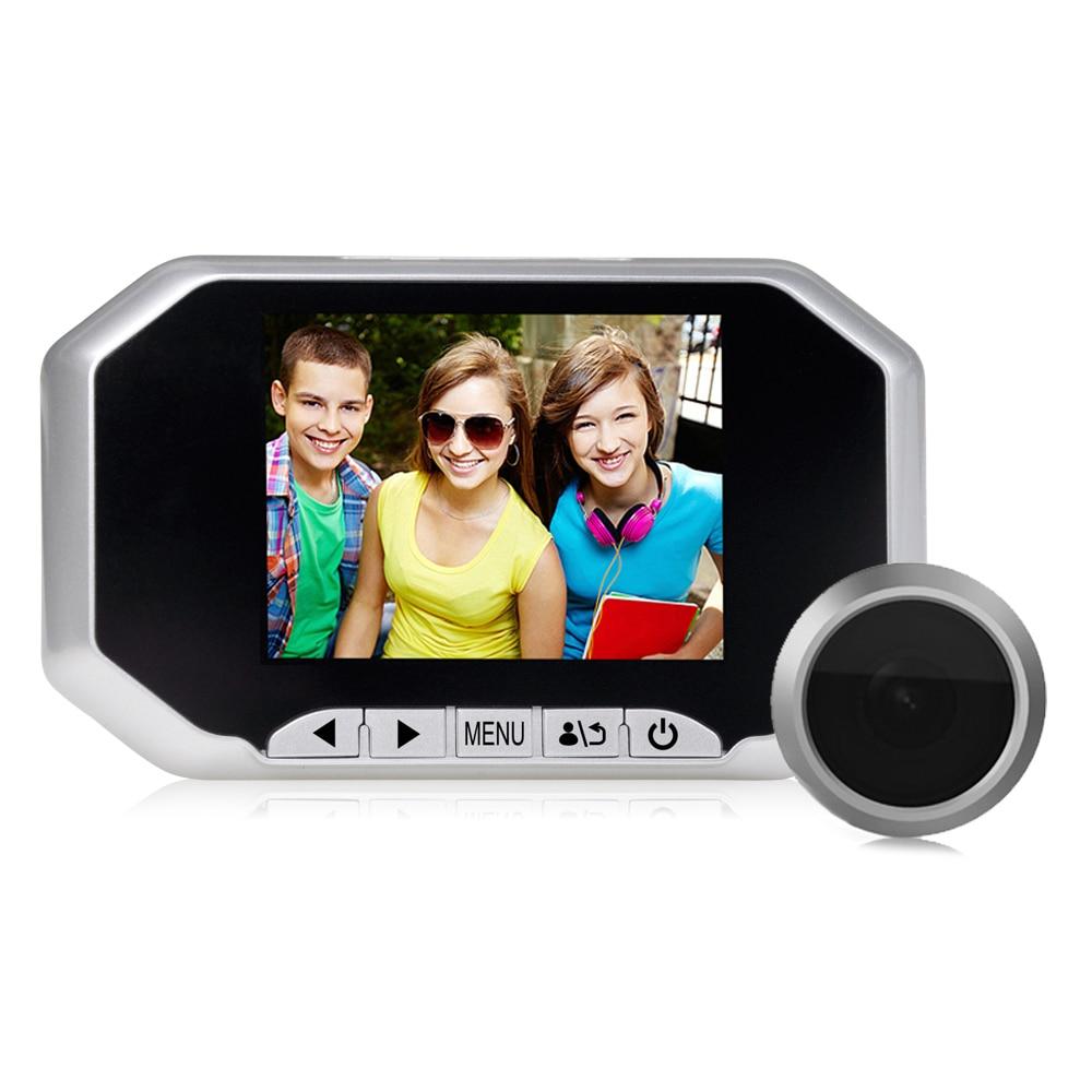 Yobang Security 3.5 LCD 160 degree Wide Angle Visual Monitor Digital Door Viewer Doorbell Peephole Camera Video Home Security монитор wide corporation lcd pa1sa5x корея
