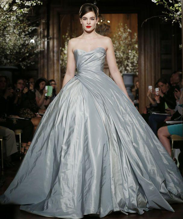 Simple Cheap Vintage Gray Cinderella Prom Dresses 2015