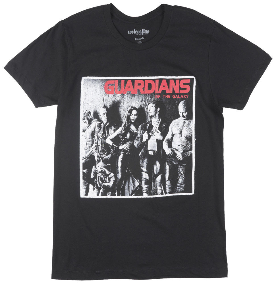 Guardians of the Galaxy T-Shirt Group Movie Film 3D Men Hot Cheap Short Sleeve Male T shirt